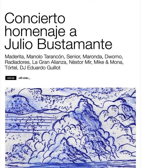 Homenaje a Julio Bustamante