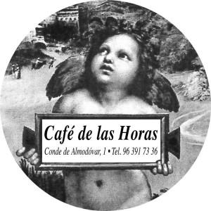 cartel café de las horas