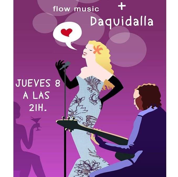 Concierto con Daquidalla en el Tastavi (l'Eliana, Valencia)