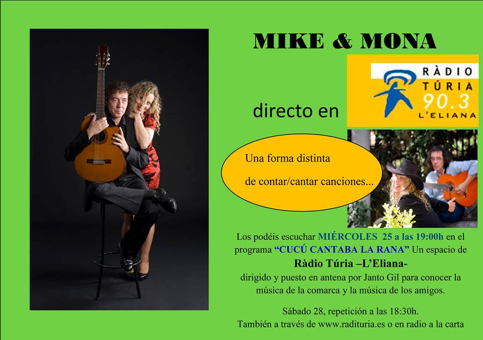Esta tarde en Radio Túria 90.3 del dial