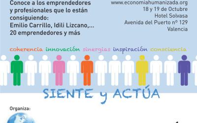 """Mike y Mona en el encuentro """"Humanizando la Economía"""" 17 y 18 de octubre"""